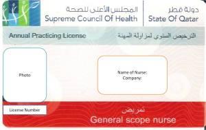 Qatar Nursing License