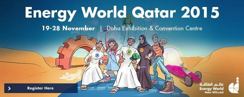 Source: https://www.facebook.com/Energy-World-Qatar-974893242552468/